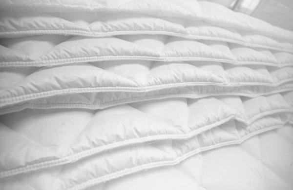 Duvets and overmattress workshop